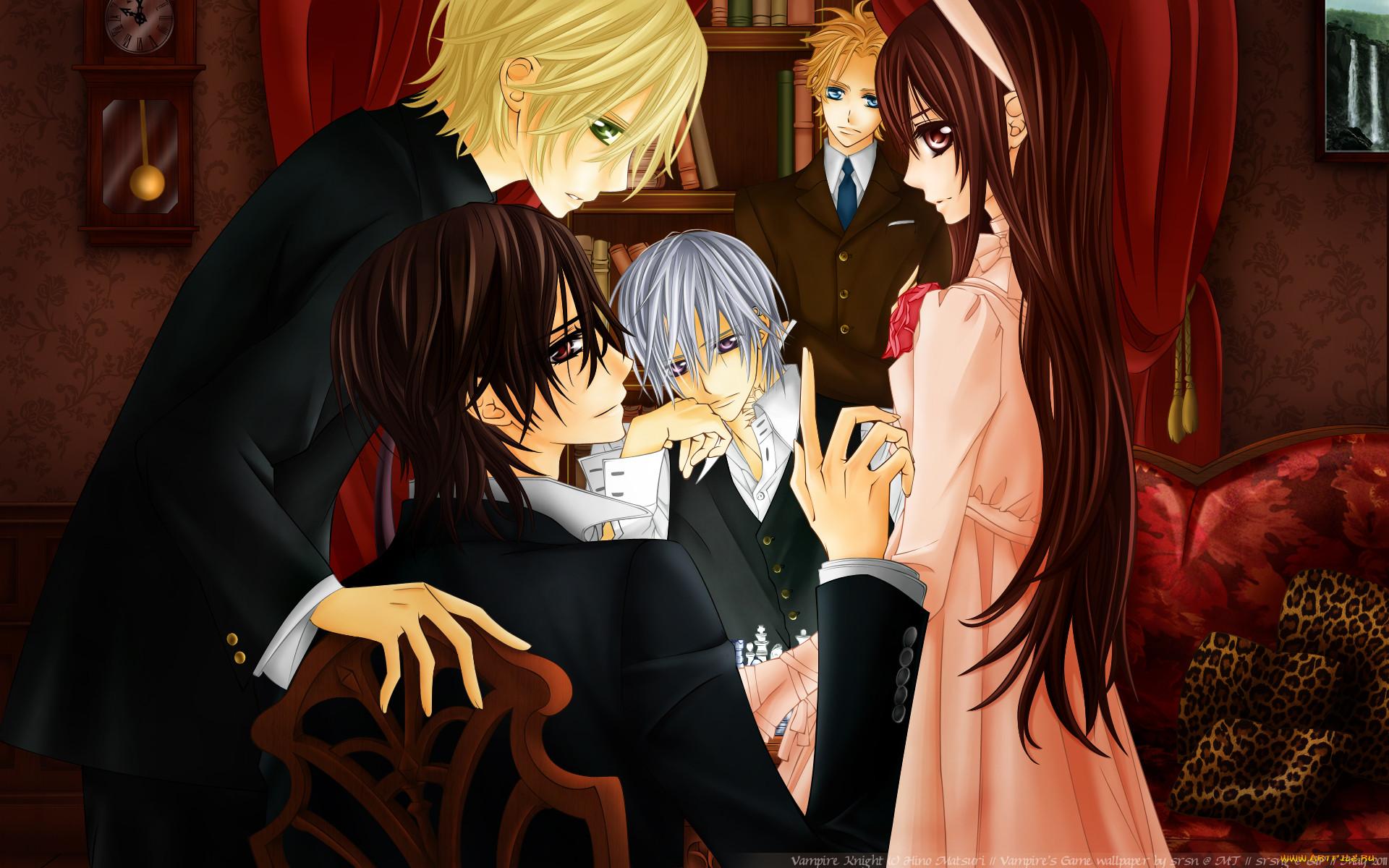 Аниме любовь вампира в картинках